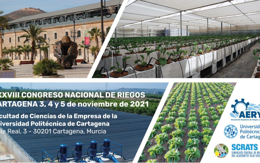 XXXVIII Congreso Nacional de Riegos de Cartagena 2021